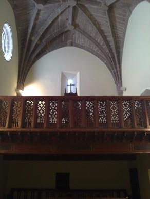 Imagen de la baluaustrada del coro