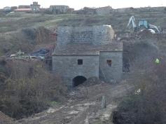 Reconstrucción del edificio de molienda