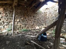 Caseta de pastores del corral de longas de la SIerra