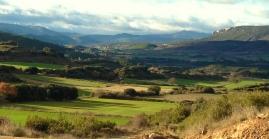 Vista de la parte Oeste del vallecico de Lerda.