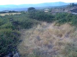 Barrera del corral de la Loma