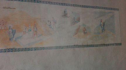 Frescos con escenas de la vida de Santa Eufemia