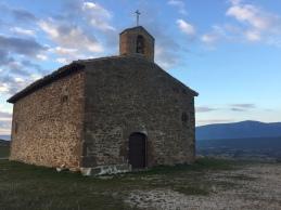 Detalle de la entrada de la ermita de Santa Eufemia