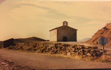 Vista de la Ermita hacia los años 80