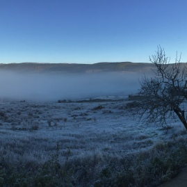 Amanecer una mañana de Diciembre