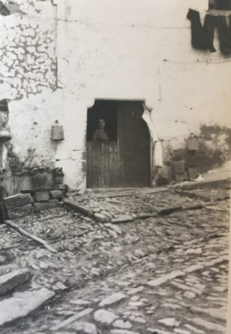 Puerta de casa de la Marta
