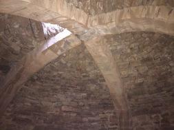 Detalle del arco de la bóveda del nevero