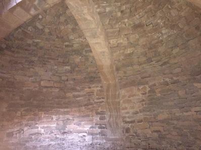 Detalle del arco de la bóveda