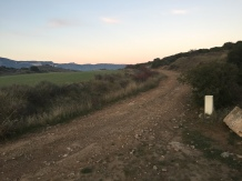 Cruze del camino de las Costeras con el camino de Santiago