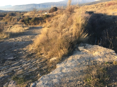 Desvio hacia la Calzada Romana