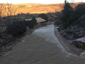 Vista desde el pueblo del Lavadero