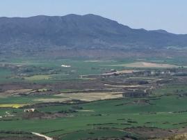 Vista de la sierra de Peña