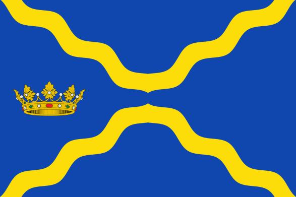 Bandera acutal de Undués de Lerda