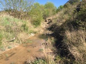Cruce del barranco de Bayatalo