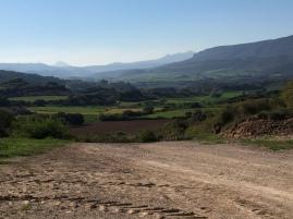 Vista de la zona baja del valle de Lerda