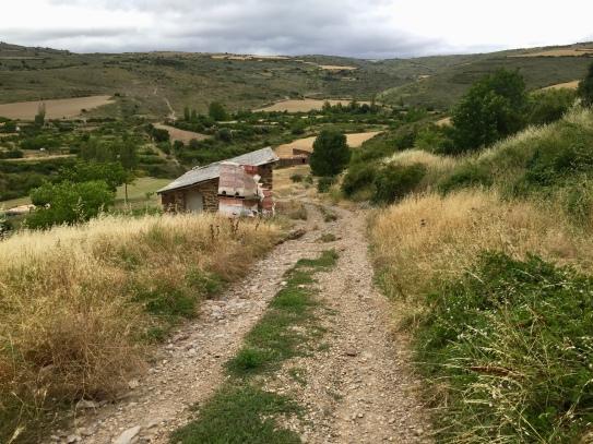 Camino de Santiago hacia Ruesta