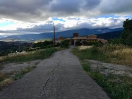Llegada a Undués por la zona del Cantón