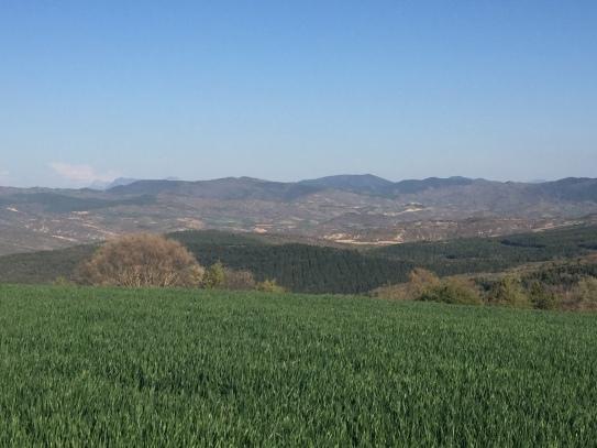 Vista del valles de Pintano