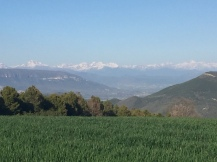 Vista de la canal de Berdun