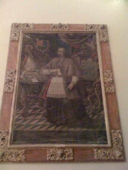 Retrato Juan Francisco Guillén Isso. Iglesia Parroquial de Undués de Lerda