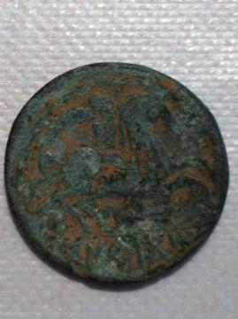 Moneda Ibera entrontrada en el Vallecico de Lerda
