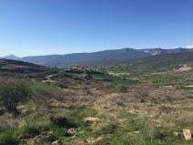 Vista de Undués dede el Portillo