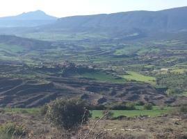 Vista del vallecico de Lerda.
