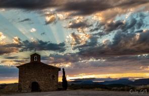 Atardecer en Santa Eufemia