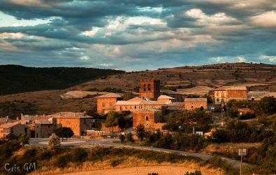 Vista de Undués desde Santa Eufemia