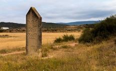 Frontera con la comunidad Foral de Navarra en las Costeras