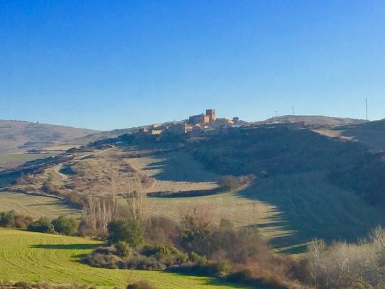 Vista de Undués desde Santa María
