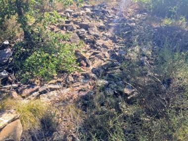 Restos de la ermita de Santa Cruz