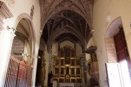 Interior de la iglesia de San Martín Obispo de Tours