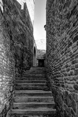 Escaleras hacia la Plaza