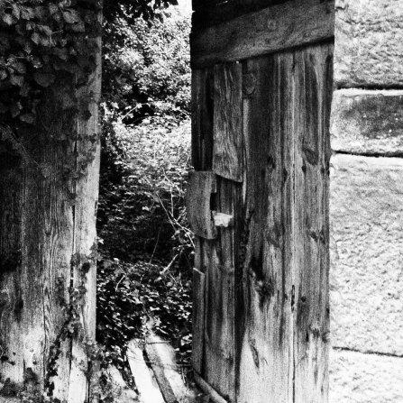Detalle de Puerta de casa de la Matea