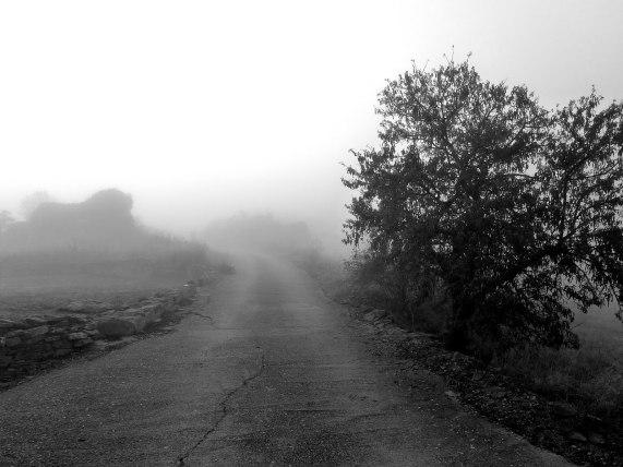 Camino hacia el Cementerio