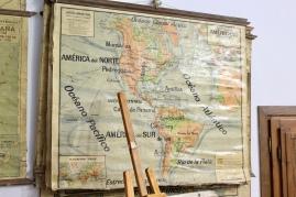 Mapa del continente Americano