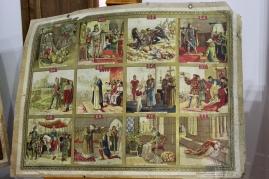 Viñetas sobre pasajes de la historia de España