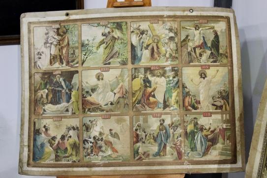 Viñetas sobre la muerte y resurrección de Jesús
