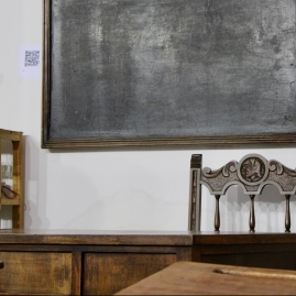 Aula antigua del colegio de Undues