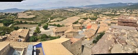 Vista desde la torre campanario.