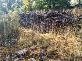 Restos de edificios de los Casales de Lerda