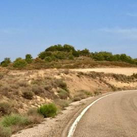 Vista desde la carretera del Cerro de Lerda