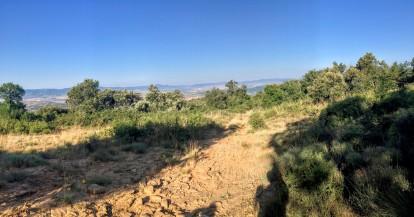 Zona Oeste del Monte de Santa Cruz
