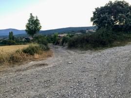 Cruce del Camino de Bayatalo con el Del Río Monte