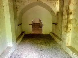 Interior de la Ermita de Santiago