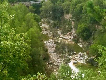 Vista del río Regal