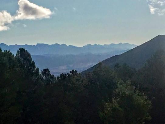 Vista de los montes Pirimeos