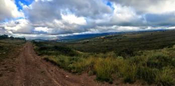 Vista del vallecico de Lerda desde la Balsa de Arruga